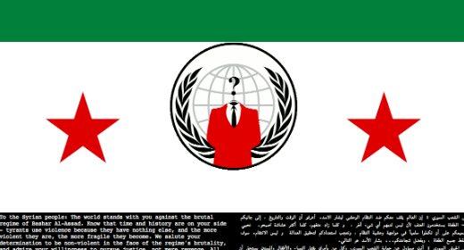 Anonymous Siria