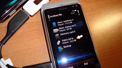 Nokia N8 con Symbian
