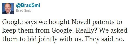 Brad Smith attacca Google