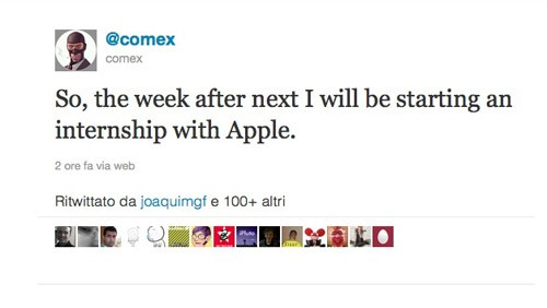 Comex in Apple
