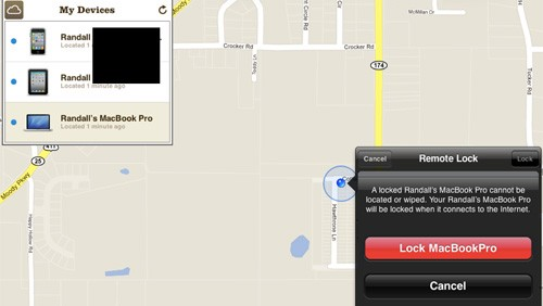 Find my iPhone e Find my Mac