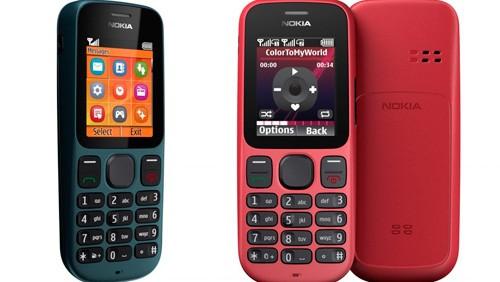 Nokia 100 e Nokia 101