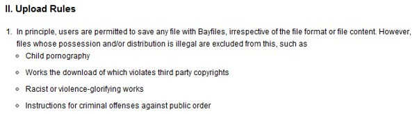 Policy BayFiles