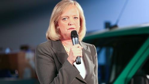 CEO di HP Meg Whitman