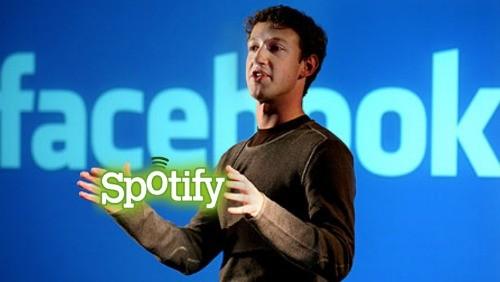 Facebook e Spotify
