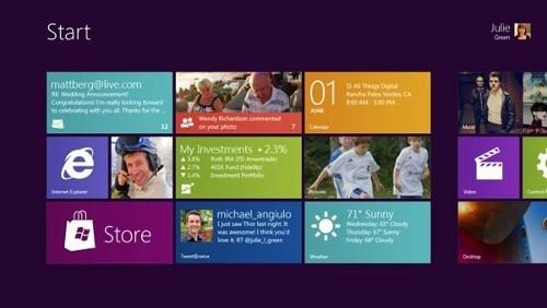 Metro di Windows 8