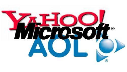 Microsoft Yahoo AOL