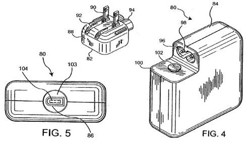 Le immagini della domanda di brevetto Apple