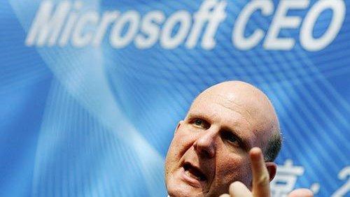 Steve Ballmer di Microsoft