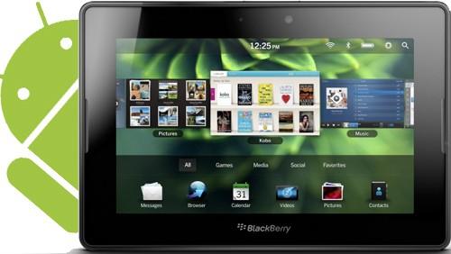 Applicazioni Android su BlackBerry PlayBook