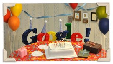 Doodle per i 13 anni di Google