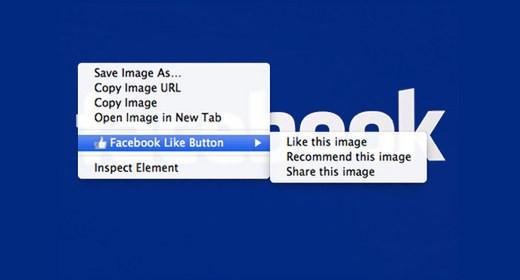 Facebook Like Button su Google Chrome