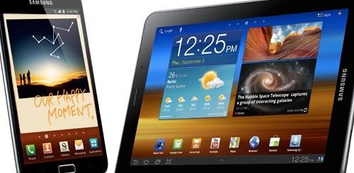 Samsung Galaxy Note e Galaxy Tab 7.7