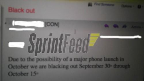 Sprint e iPhone 5