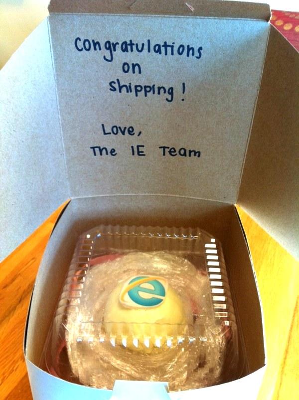 Una torta per Firefox 7