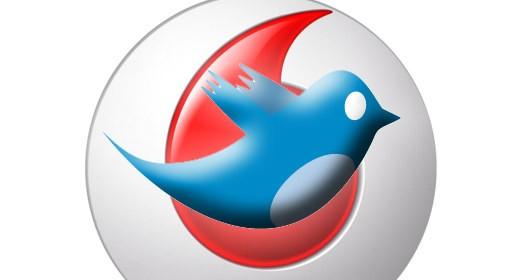 Twitter e Vodafone