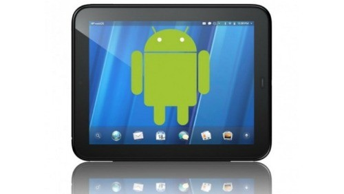 Android su HP TouchPad