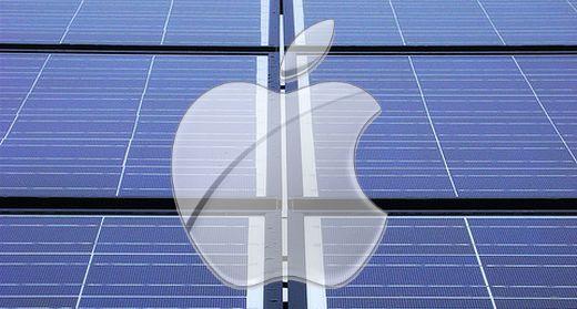 Apple centrali solari