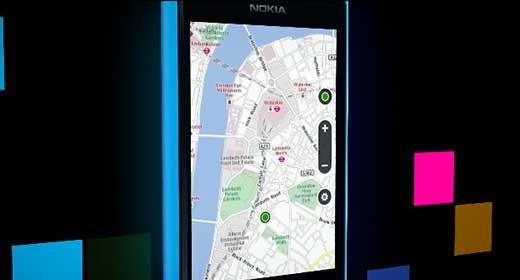 Lumia 800 - Maps