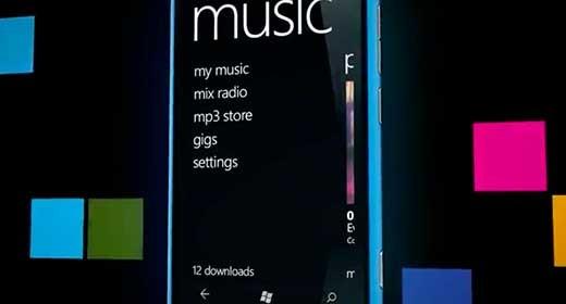 Lumia 800 - Musica