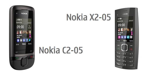 Nokia C2-05 e X2-05