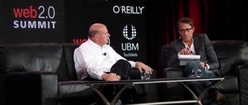 Steve Ballmer Web 2.0 Summit