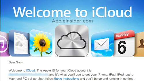 Welcome to iCloud