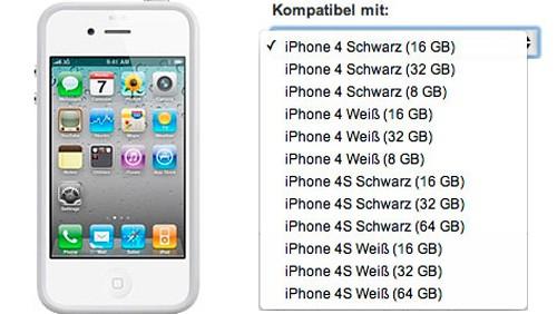 Bumper per iPhone 4S