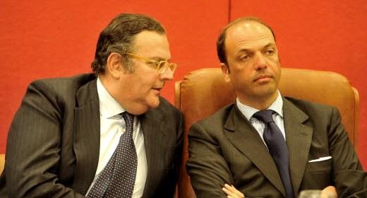 Roberto Cassinelli e Angelino Alfano