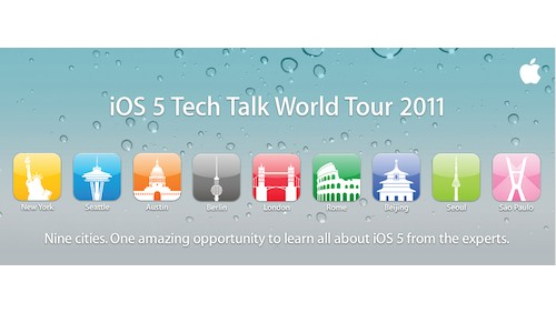 iOS 5 World Tour