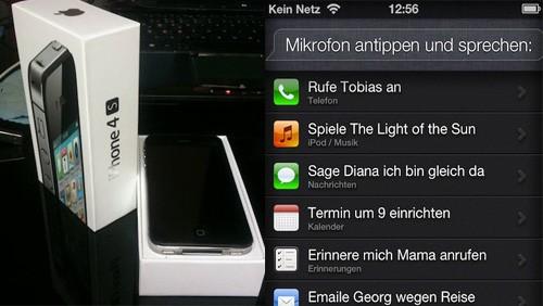 iPhone 4S tedesco