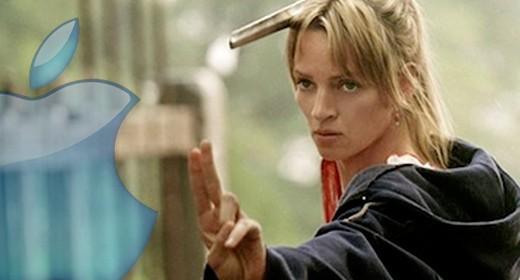 Kill Bill di Miramax e logo Apple