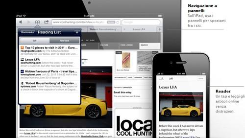 Safari iOS 5