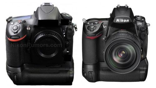 Nikon D800 vs D700