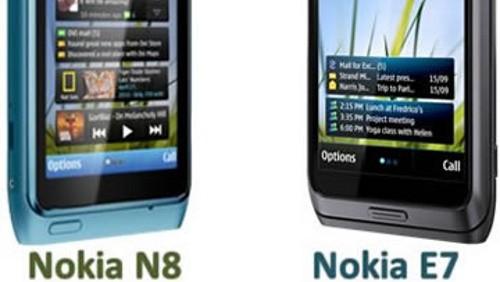 Nokia N8 e E7