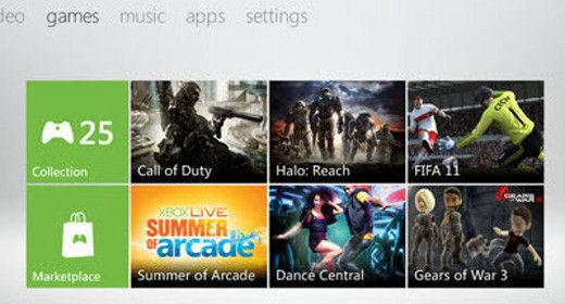 Nuova dashboard Xbox