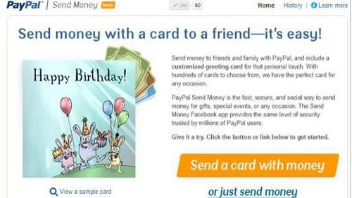 Send Money di PayPal