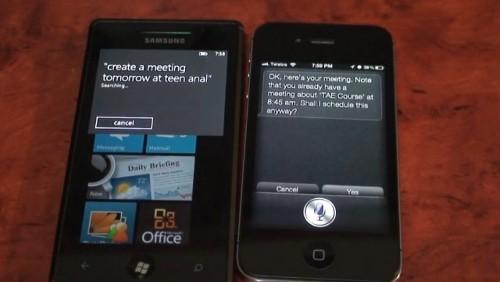 Siri contro TellMe