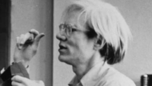 Andy Warhol alle prese con il Mac