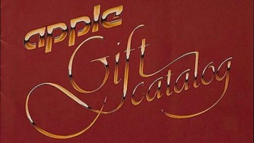 Apple catalogo dei regali 1983