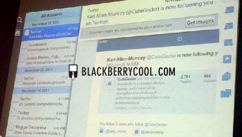 email Blackberry
