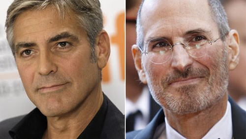 George Clooney e Steve Jobs