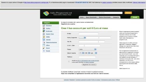 italia-programmi.net nuove email intimidatorie di sollecito