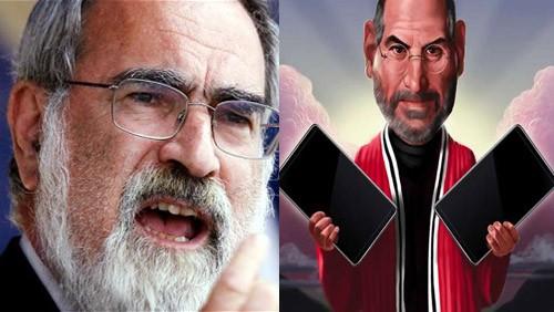 Lord Sacks contro Steve Jobs