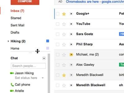 La nuova Gmail