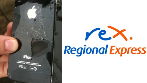Problemi a un iPhone 4 su un volo REX