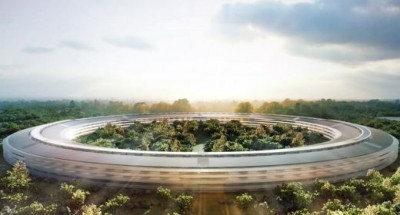 Il nuovo campus Apple a Cupertino
