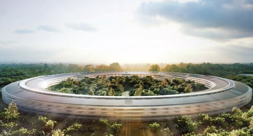Il nuovo campus Apple a Cupertino