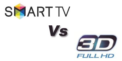 SmartTV vs 3D