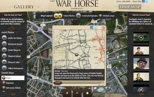 War Horse Windows Azure-Bing